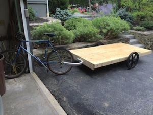 Bike trailer - small size